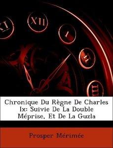 Chronique Du Règne De Charles Ix: Suivie De La Double Méprise, E