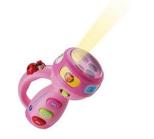 VTech 80-124054 - Fröhliche Taschenlampe, pink