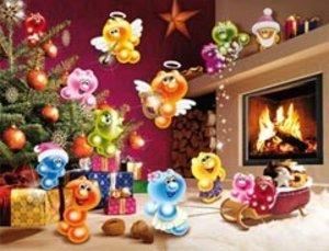 Ravensburger 16643 - Gelini: Wilde Weihnachten, 2000 Teile Puzzl