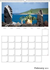 Hawaii - Organizer / UK-Version (Wall Calendar 2015 DIN A3 Portr