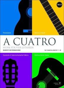 A cuatro - Musik für 4 Gitarren Band 2 (leicht bis mittel) Nr. 1