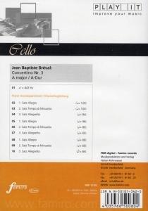 Concertino Nr. 3, A-Dur