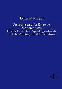 Ursprung und Anfänge des Christentums