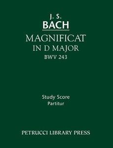Magnificat in D Major, Bwv 243: Study Score
