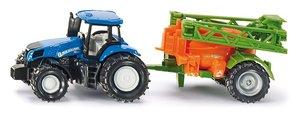 Siku 1668 - Traktor mit Feldspritze