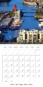Cape Town City Impressions (Wall Calendar 2015 300 × 300 mm Squa