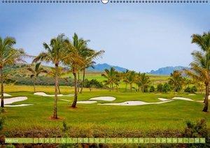 Golf: Golfparadiese der Welt (Wandkalender 2016 DIN A2 quer)