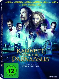 Das Kabinett des Doktor Parnassus (DVD) - zum Schließen ins Bild klicken