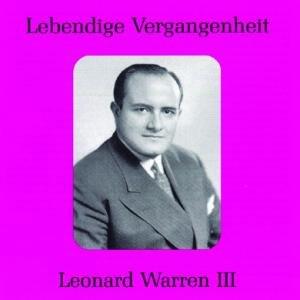 Leonard Warren III