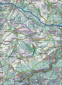 KuF Deutschland Outdoorkarte 52 Schwarzwald 1 : 35 000