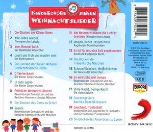 Kinderchöre singen Weihnachtslieder