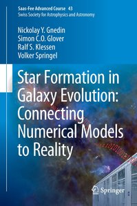 Star Formation in Galaxy Evolution: Connecting Numerical Models