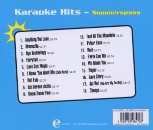 Karaoke Hits-Sommerspass