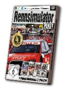 Rennsimulator Paket - 4 Original-Vollversionen in einer Box!