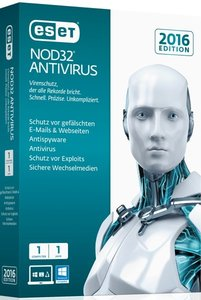 ESET NOD32 Antivirus 2016 Edition 1 User. Für Windows XP/Vista/7