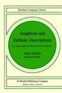 Anaphora and Definite Descriptions