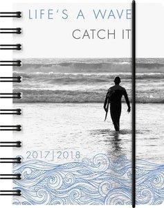BRUNNEN Schülerkalender/Schüler-Tagebuch 2016/18 Wave