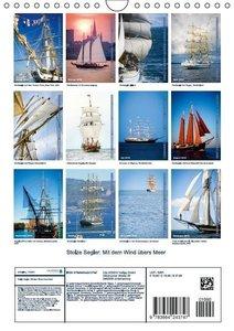 Stolze Segler: Mit dem Wind übers Meer (Wandkalender 2016 DIN A4