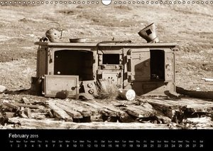 Historic Svalbard / UK version (Wall Calendar 2015 DIN A3 Landsc