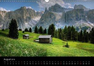 Mystische Dolomiten (Wandkalender 2016 DIN A3 quer)