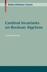 Cardinal Invariants on Boolean Algebras