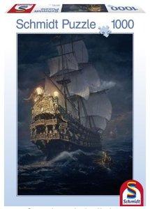 Schmidt Spiele 58191 - Auf hoher See, 1000 Teile Puzzle