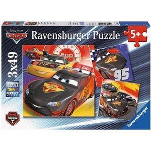 Ravensburger 08001 - Disney Cars, Abenteuer auf der Straße, Puzz
