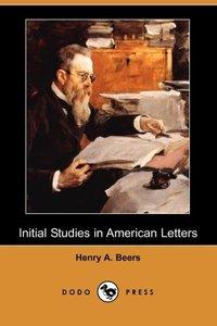 INITIAL STUDIES IN AMER LETTER