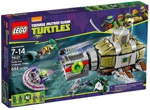 LEGO® Teenage Mutant Ninja Turteles 79121 - Verfolgungsjagd im T