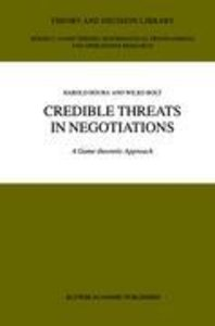 Credible Threats in Negotiations
