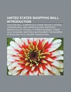 United States shopping mall Introduction