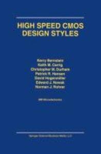 High Speed CMOS Design Styles