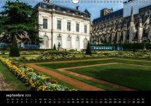 Bourges, des jardins dans la ville (Calendrier mural 2015 DIN A3