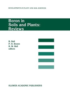Boron in Soils and Plants: Reviews