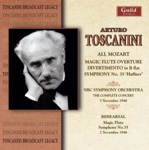 Toscanini Dirigiert Mozart+Probe