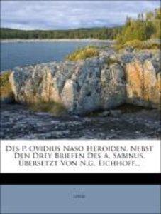 Des P. Ovidius Naso saemtliche Werke, zweyter Band