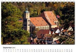 CALVENDO: Aus der Ferne: Schwäbisch Hall 2015 (Tischkalender