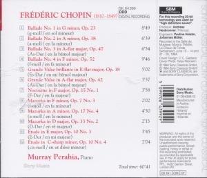 Nocturne,Op.15 No.1/Mazurkas Op.7 No.3