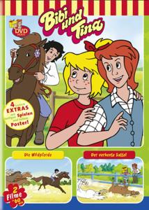 Bibi und Tina. Die Wildpferde, der verhexte Sattel. DVD-Video - zum Schließen ins Bild klicken