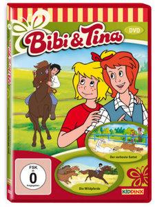 Bibi und Tina. Die Wildpferde, der verhexte Sattel. DVD-Video
