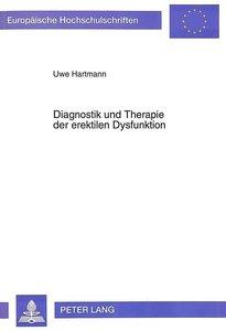 Diagnostik und Therapie der erektilen Dysfunktion