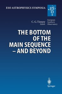 The Bottom of the Main Sequence - And Beyond