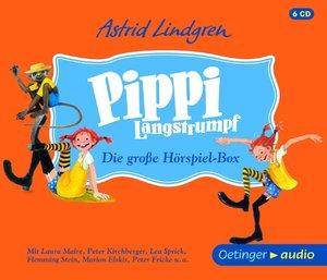 Pippi Langstrumpf. Die gro¿ Hörspielbox (6 CD)