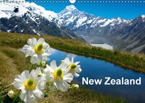 New Zealand (Wall Calendar 2015 DIN A3 Landscape)