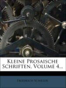 Kleine prosaische Schriften, Vierter Theil
