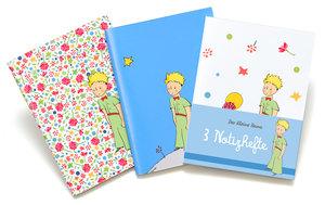 Der Kleine Prinz 3 Notizbücher