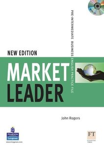 Market Leader Pre-Intermediate Practice File with Audio CD Pack