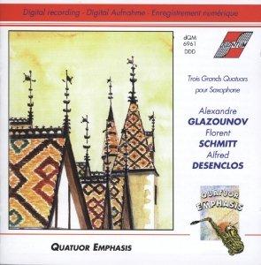 Trois grand Quatuors pour Saxophone