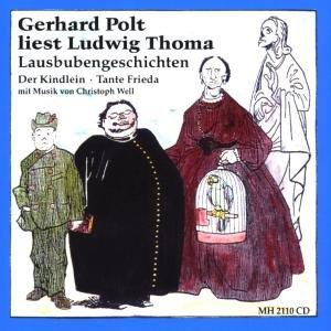 liest Ludwig Thoma-Lausbubengeschichte