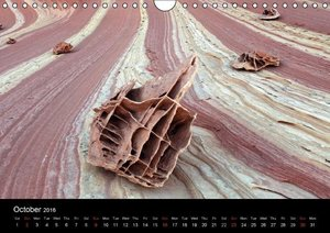 Stones & Rocks (UK-Edition) (Wall Calendar 2016 DIN A4 Landscape